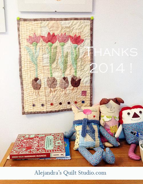 Quilts colchas de patchwork tulipanes