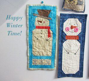Colchas pequeñas navideñas patchwork
