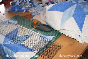como armar una colcha de patchwork