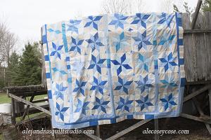 cuánto cuesta hacer una colcha de patchwork