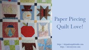 Paper piecing patrones gratis
