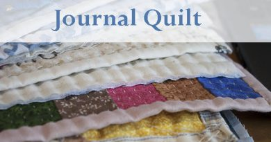 Quilt Journaling Ale Cose y cose