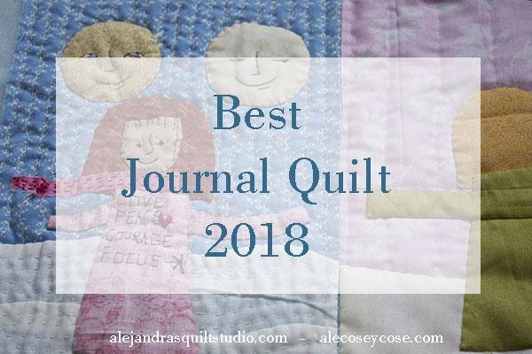 como hacer una colcha journal 2018