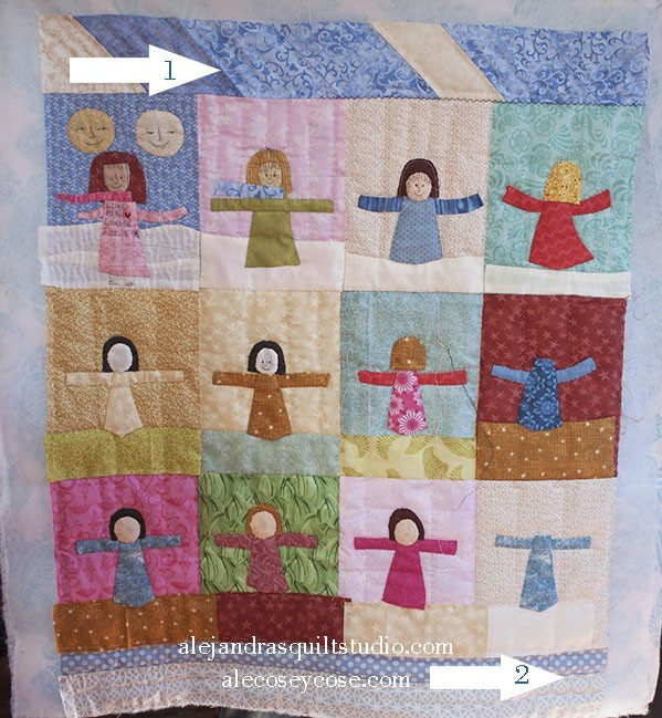 Journal Quilt 2018 Tutorial