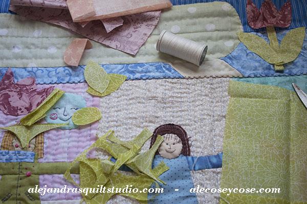 Cómo hacer una colcha Journal Quilt