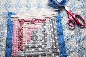 como hacer una bolsa cosmétiquera