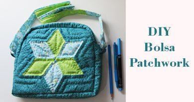 Como hacer una bolsa patchwork