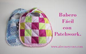 Babero Fácil Para Bebé - DIY Patchwork