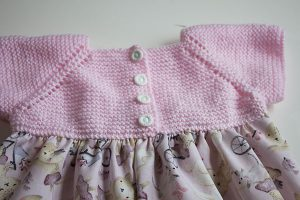 como hacer un vestido para bebé