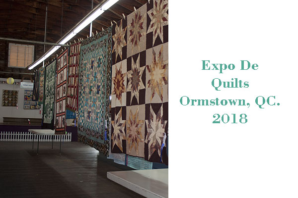 Expo Quilts Ormstown Fair 2018