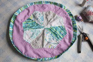 tutorial bolsa patchwork con jareta
