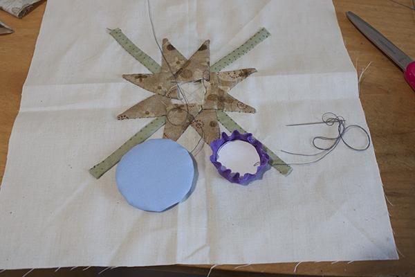 Como hacer patchwork aplicado 3 ale cose y cose - Como hacer pachwork ...