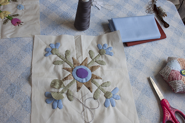 Como hacer patchwork aplicado 8 ale cose y cose - Como hacer pachwork ...