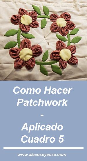 Cómo Hacer Patchwork - Aplicado 5