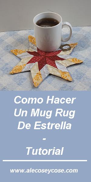 Cómo Hacer Un Mug Rug De Estrella - Tutorial