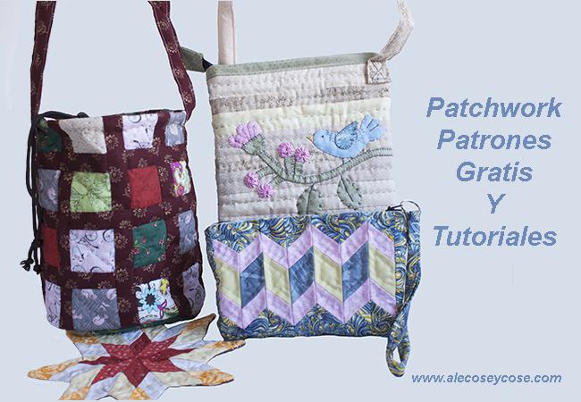 patrones gratis patchwork 2018