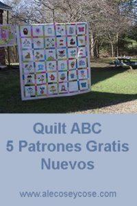 quilt abc patrones gratis