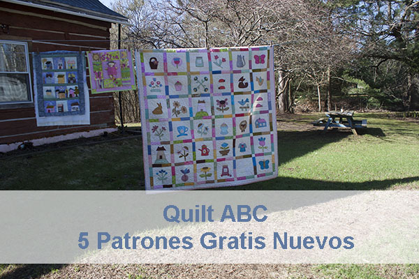 Quilt ABC 5 Nuevos Patrones Gratis