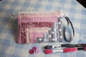 como hacer una cosmetiquera patchwork