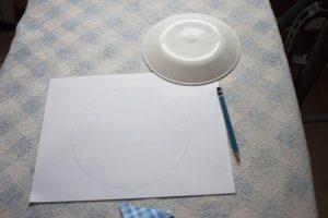 como hacer el patron para hacer el plato de dresden