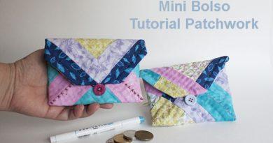 tutorial mini bolso patchwork