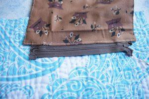 pasos para hacer un bolsillo interior con zipper