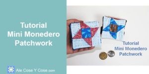Tutorial Patchwork - Mini Monedero