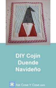 DIY Cojín Duende Navideño