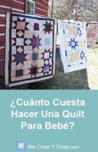 ¿Cuanto Cuesta Hacer Una Quilt Para Bebé? - Quilts