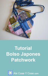 Tutorial Bolso Japones Patchwork - Bolso Patchwork
