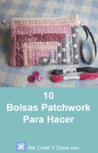 10 Bolsas Patchwork Para Hacer - Bolsa Patchwork