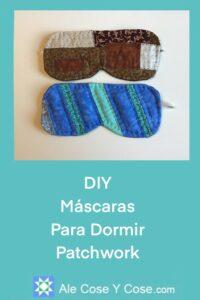 DIY Mascara Para Dormir Patchwork