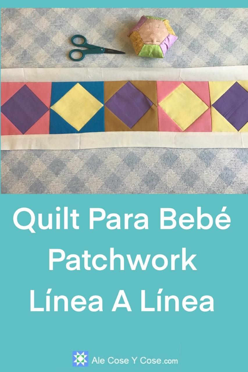 Quilt Para Bebe Patchwork