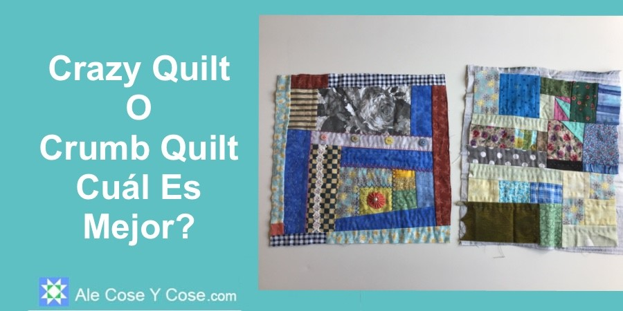 Crazy Quilt O Crumb Quilt