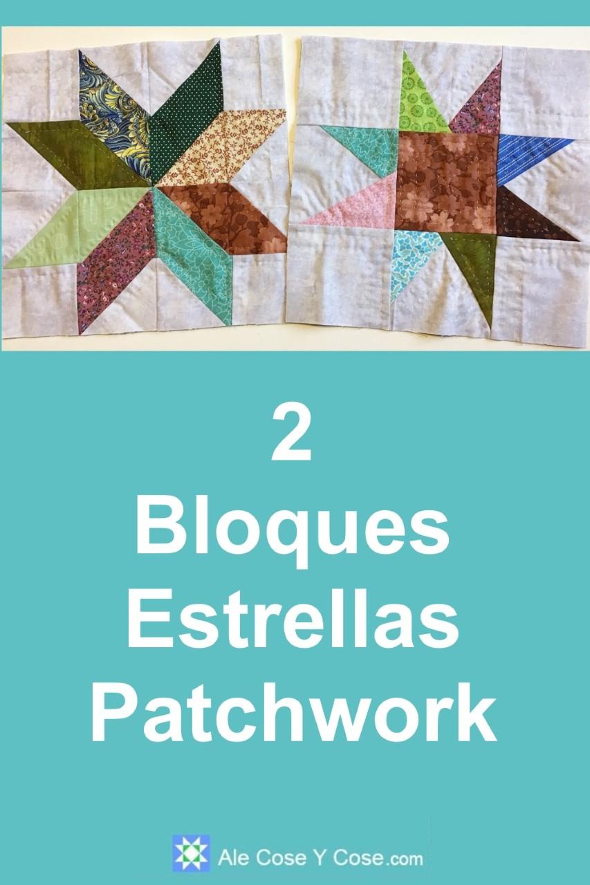 Bloques Estrellas Patchwork