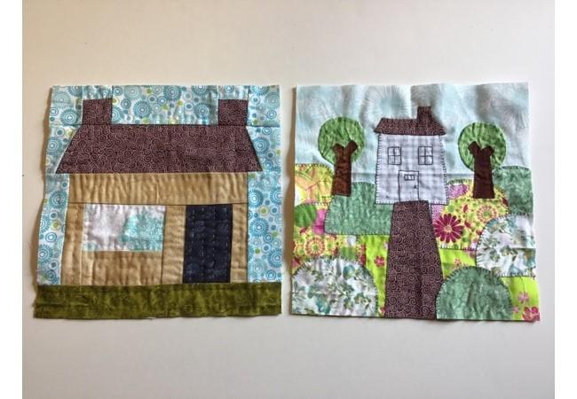 Bloques Para Quilt Con Casas