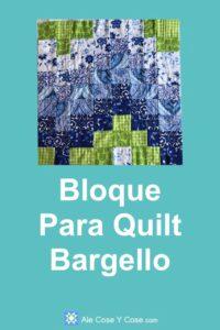 Bloque Para Quilt Bargello