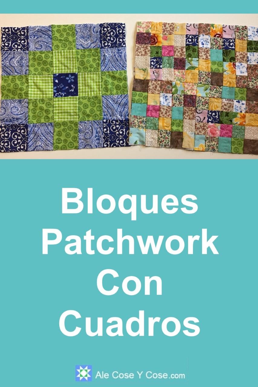 Bloques Patchwork Con Cuadros