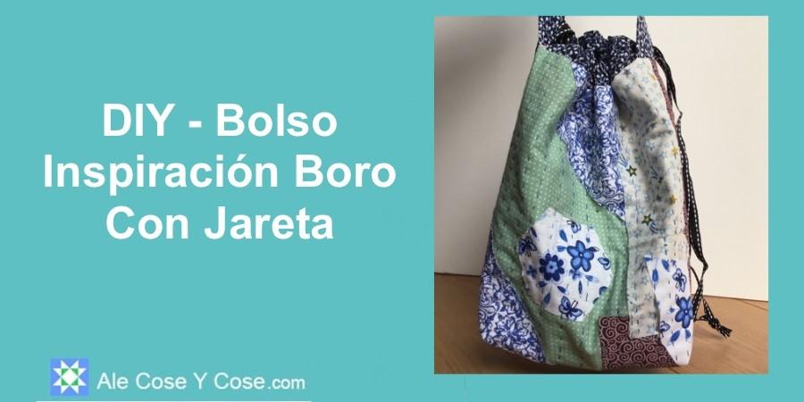 Bolso Inspiracion Boro Con Jareta