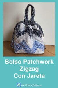 Bolso Patchwork Zigzag