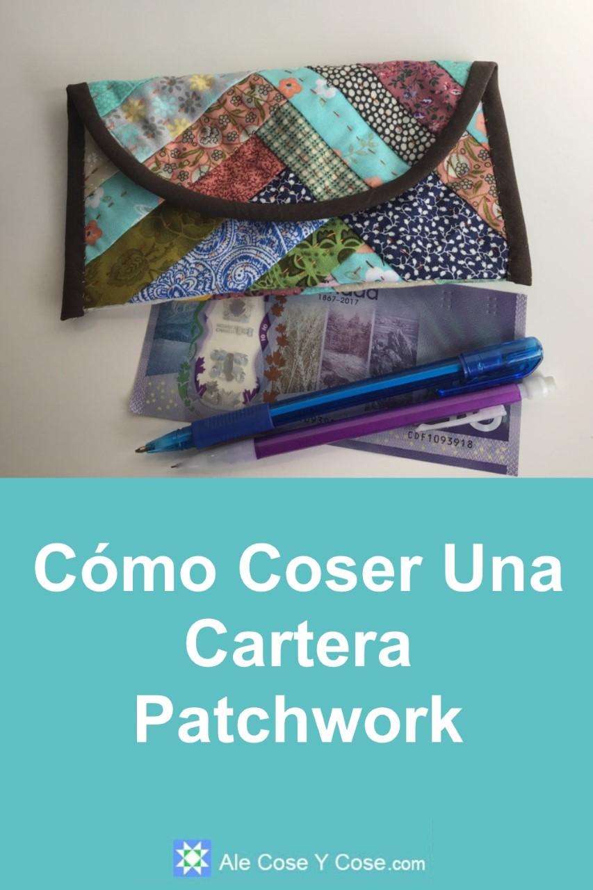 Coser Cartera Patchwork