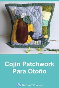 Cojin Patchwork Para Otoño