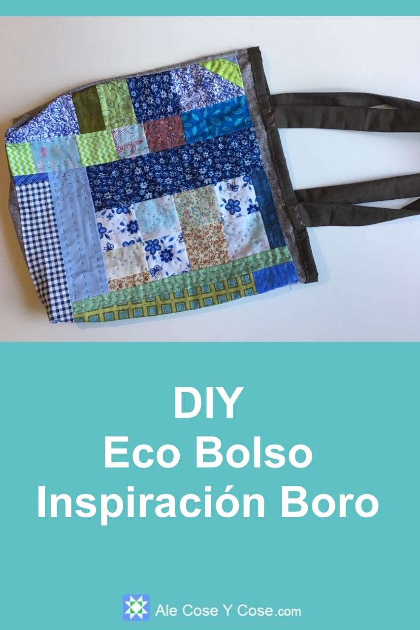 DIY Eco Bolso Inpiracion Boro