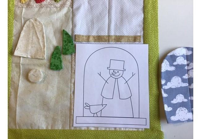 Mini Quilt Navideno - Bloque 2